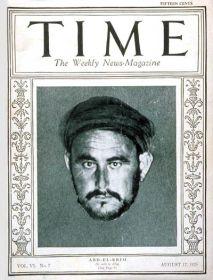 Abd El Krim portada de Time