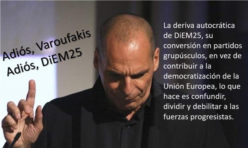 Adiós Varoufakis